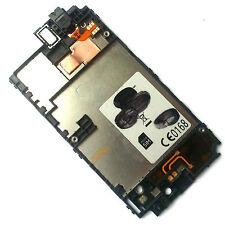 100% Nokia Lumia 520 LCD carcasa+altavoz auricular+auriculares Auricular entrada
