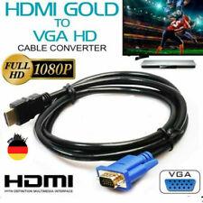 1.5m HDMI Zu VGA Kabel HD-15 D-SUB Video Adapter HDMI-Kabel Für PC HDTV Monitor