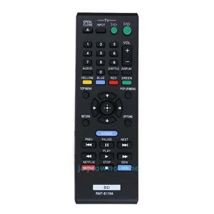 Remote-Control-For-Sony-RMT-B119A-BDP-S390-3100-5100-BX59-110-Blu-ray-DVD-Player