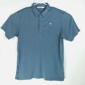 Travis-Mathew-Mens-Size-XL-Shirt-Short-Sleeve-Polo-Golf-Soft-Embroidered-Logo