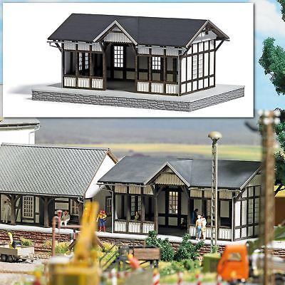 Busch 1641 HO Kit Waiting Room Department of Ilfeld # NEW ORIGINAL PACKAGING #