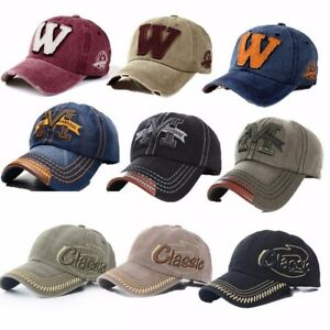 Men-Women-Baseball-Sport-Golf-Cap-Adjustable-Hip-hop-Visor-Snapback-Hat-Trucker