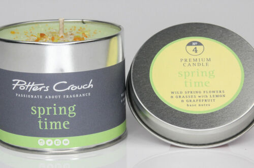 Spring Tme Potters Crouch Candle Tin