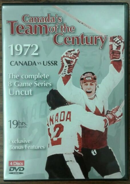 Canada's Team of the Century 1972 Canada vs USSR Complete 8 Game Series (4 DVDs)