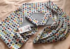 STOKKE SCOOT RETRO SUMMER KIT ,BRAND NEW WITH MULTI COLOURED SPOTS.BUY NOW PRICE