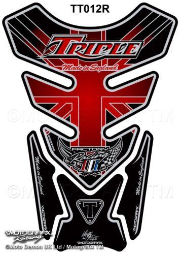 Triumph Speed Street Triple Daytona Motorcycle Tank Pad Motografix Gel Protector