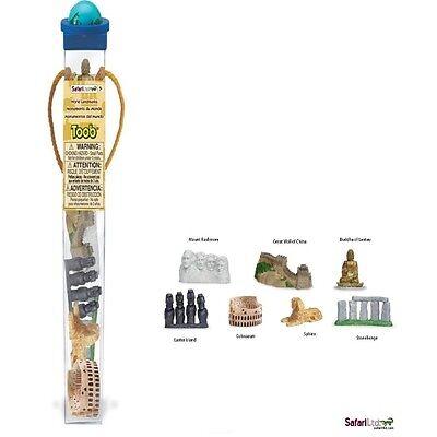 sehe uerdigkeiten le monde (7 mini figurines) série Tubos - TUBES safari LTD