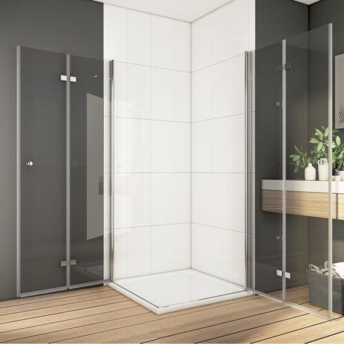 90x90cm 185cm Duschkabine Duschwand Falttür Duschen Duschabtrennungen NANO ESG