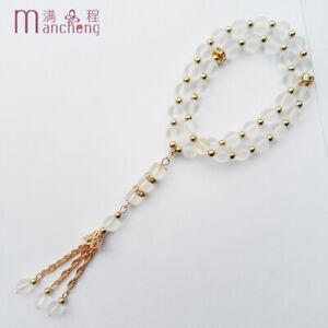 Misbaha-Masbaha-prayer-Crystal-Islamic-Muslim-Salah-Rosary-Tasbih-Sibha-33-Beads