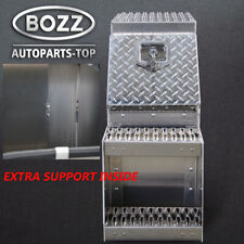 "12/"" Aluminum Tool//Step Saddle Box with Lock and Keys"