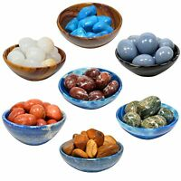 All 7 Chakra Gemstone Crystal Tumbled Set Polished Mineral Stone Pebbles - 1 Set