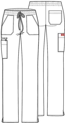 Scrubs Dickies Low Rise Drawstring Pant DK100 WINZ Wine Free Shipping