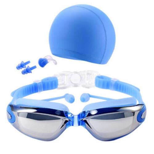 Waterproof Anti Fog Glasses Swimming Goggles Adult Protection Optical Silicone