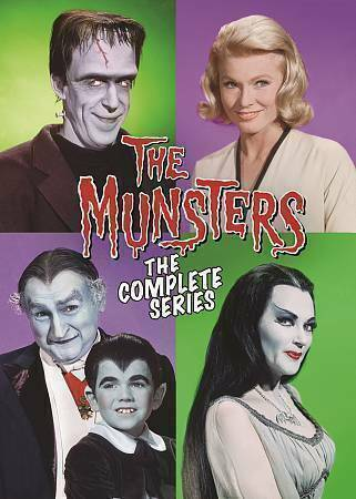 The Munsters The Complete Series Dvd 2016 12 Disc Set For Sale Online Ebay