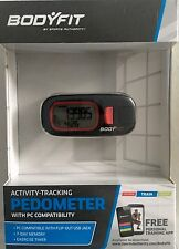 Body Fit Activity Tracking Pedometer with PC Compatibility