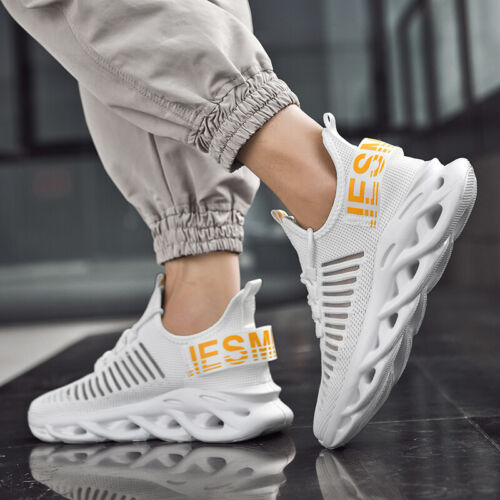 Mens Sneakers Trainers Breathable Outdoor Casual Running Athletic Sports Shoes