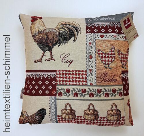 Hesta Coussin Tapis Coussin Taie d/'oreiller poules Coussins du canapé canapé coussin 40 cm