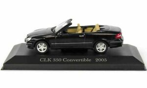 Mercedes-Benz-CLK-350-convertible-2005-en-negro-1-43-escala-por-ex-Mag-LB31