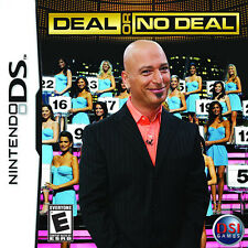 Deal or No Deal DS NEW! DSI, LITE, XL, 3DS! HOWIE MANDEL, FAMILY FUN GAME SHOW