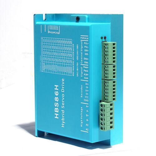 HBS86H Motor Driver Hybrid NEMA34 Stepper Drive Controller Motor 30-100VDC
