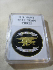 US NAVY SEAL TEAM THREE Challenge Coin