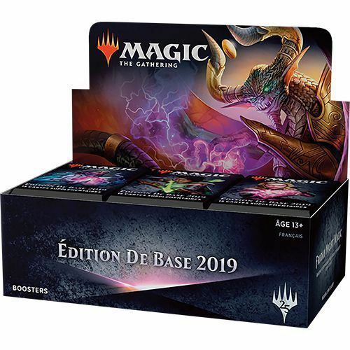 Mtg box scellee 36 boosters core set 2019 (French version)