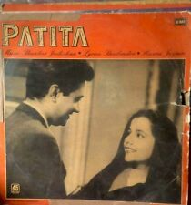 "INDIA RARE LP VINYL RECORD ""PATITA"" ALL SONGS SUNG BY Talat ,Hemant Kumar & LATA"