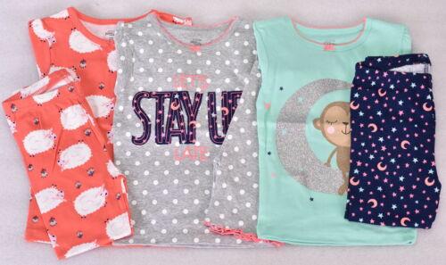 Toddler Girl/'s Simple Joys by Carters 6-Piece Snug Fit Pajama Set Multicolor