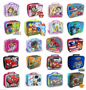DISNEY-LUNCHBOX-LUNCH-PACK-BAG-KIDS-BOYS-GIRLS-SCHOOL-FOOD-PICNIC-BOX-INSULATED