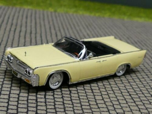 1//87 Ricko Lincoln Continental Convertible hellgelb 38322