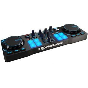 Hercules-DJControl-Compact-mobiler-2-Deck-USB-DJ-Controller