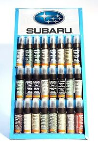 Genuine Subaru Quartz Silver touch up paint code (A7K) - part # J361SAG110A1