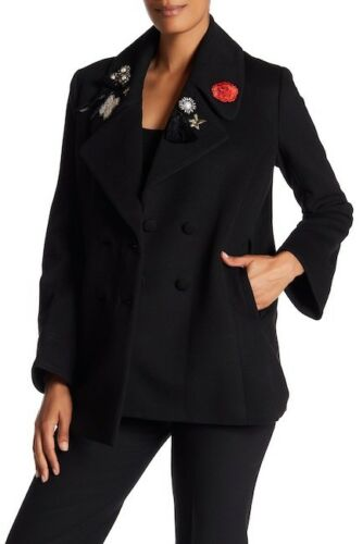 In Blazer Black Sept Size Cinq Embellished New A Xs 895 wAYqxIXW4W