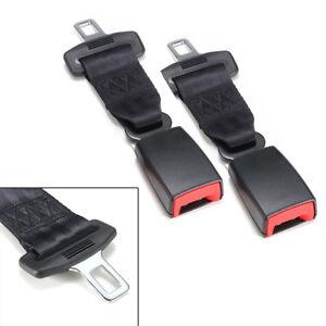 Universal Autos Seat Belt Extender 25cm High Strength Nylon Safety Buckle Clip