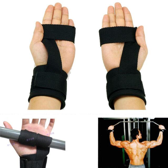 Weightlifting Straps Weight Lifting Wrist Straps Bodybuilding Gym Wrist Belt