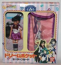 Bandai Sailor Moon Stars Sailor Pluto Pocket Doll SEALED BOX (IN USA)