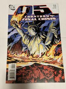 Countdown #5 May 2008 DC Comics Superman Delgado