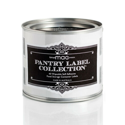 Pantry Labels CLASSIC Preprinted and Blank Kitchen Label Premium Quality Stylish