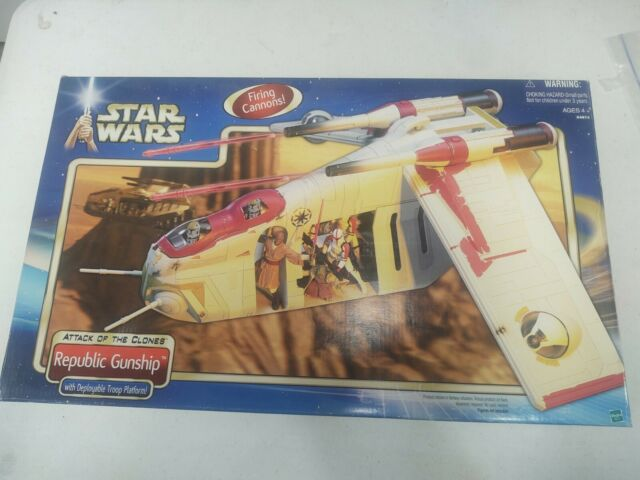 Star wars attack of the clones Republic Gunship Box Only