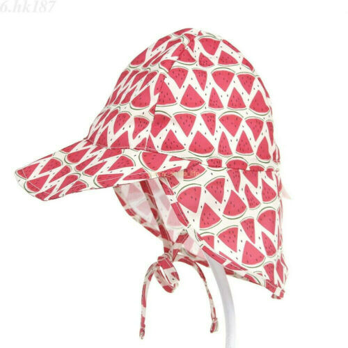 Sun Hat Baby Boys Girls Kids Summer Beach Hat Legionnaire Cap Cotton 6 M-5 Years