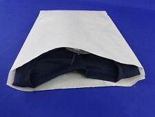 White Kraft Paper Flat Merchandise Bags Gift Retail Shopping 85 X 11