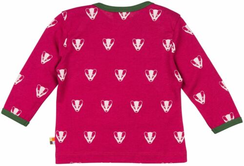 proud Shirt Taille 62-68 86 98 O 110-116 Nouveau GOTS 2018 laine 30/% Loud