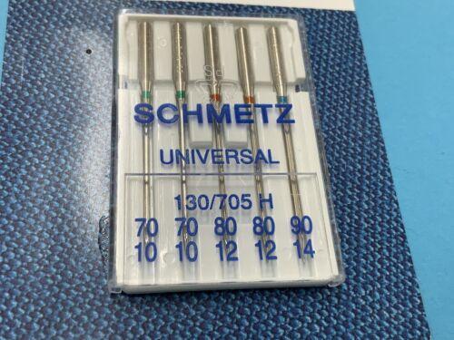 Couture Schmetz Aiguilles Démarrage Set-Nähmaschinen Uni Cuir Piston Plat