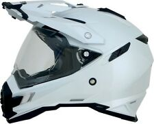 AFX FX-41DS Full Face Street Helmet Pearl White MD