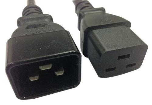16A IEC C20 Male to IEC C19 Female Extension Lead 3.5m Lead