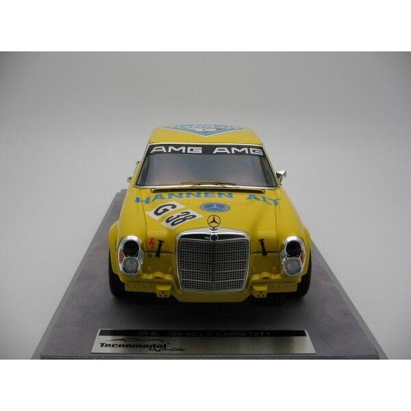 Mercedes Benz 300 SEL 6.8 AMG AMG AMG Hockenheim 1971 #38 Heyer Hannen Tecnomodel 1:18 | D'ornement  | Outlet Online Shop  | Outlet Store  d75819