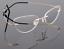 Flexible-Rimless-Titanium-Alloy-Eyeglasses-Women-Men-Glasses-Frame-Optic-Eyewear miniature 8