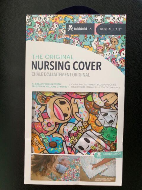 Tokipops Bebe Au Lait x Tokidoki Nursing Cover