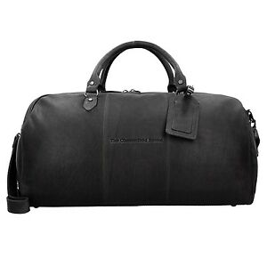 The-Chesterfield-Brand-William-Weekender-Travelling-Bag-Leather-53-cm-Black
