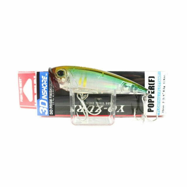 90mm 3-1//2 Ghost Shad Floating Lure Yo-Zuri 3D Inshore Surface Minnow F